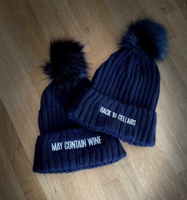 Back 10 Cellars - May Contain Wine Reversible Toques