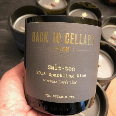 Back 10 Cellars - Smitten Recycled Wine Candle