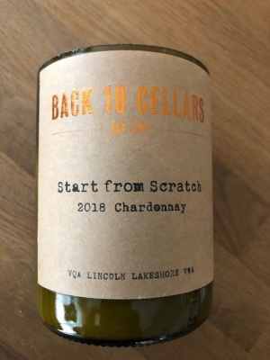 Back 10 Cellars - Start From Scratch Recycled Wine Candle